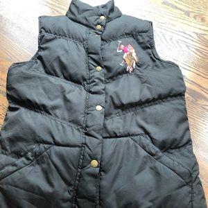 Polo Vest 🐎 EUC | one of a kind